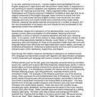 Higher English Persuasive Essay Example Discursive Writing