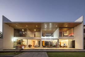 Rectangular Shaped Contemporary House Exuding Transparence Brazil