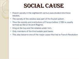 french revolution 12 ssoocciiaall ccaauussee iuml131152 french society in the eighteenth century