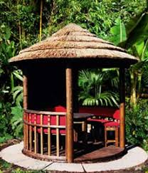 Small Picture Garden design Tropical garden buildings and huts