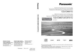 car stereo system users guides car stereo system page 6 cq c9801u manuals