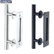 rustic barn door pulls awesome stainless steel sliding pull handle wood large handles hardware l steel rustic black barn door handle