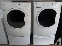 kenmore elite washer and dryer white. gently used washer \u0026 dryer kenmore he4 frontloaders on elite and white