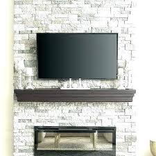 fireplace stones decorative best faux stone fireplaces ideas on rock panels firepla