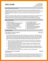 4 Early Childhood Education Resumes Gcsemaths Revision
