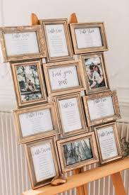 Picture Frame Seating Chart 20 Trending Vintage Wedding Seating Chart Ideas