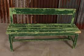 5 retro vintage garden bench