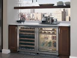 glass door beverage center with tubular handle tap to expand main feature feature