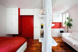 image titled decorate small. Decorate A Small Apartment Door Decoration With Red Paint And Bedding Set White . Image Titled