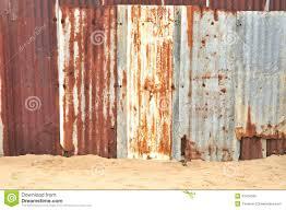 rusty sheet metal fence. Beautiful Metal Rusty Corrugated Metal Texture Inside Sheet Metal Fence O