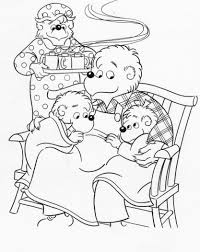 Small Picture Berenstain Bears Coloring Pages akmame