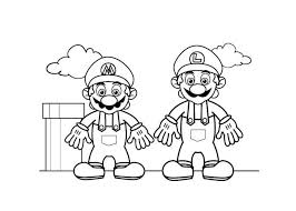 Mario And Luigi Dream Team Coloring Pages Gianfredanet 33924