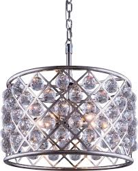 pendant lamp madison 6 light clear crystal traditional pendant lighting by euroluxhome