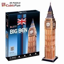 3D пазл <b>Cubic Fun Биг Бен</b> Великобритания C094h