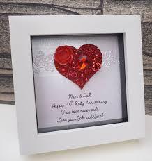 ruby anniversary gift 40th wedding anniversary 40th