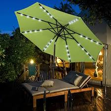 patio umbrellas with lights.  Umbrellas Sundale Outdoor Solar Powered Patio Umbrella Throughout Umbrellas With Lights E