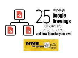 25 Free Google Drawings Graphic Organizers And How To Make