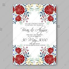 Bordeaux Maroon Roses For Wedding Invitations Vector Printable