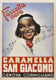 ✔️ Faccetta Nera - Caramella San Giacomo - Genova Cornigliano | Vecchie  pubblicità, Pubblicità, Genova