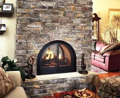 see through gas fireplace insert efficiency