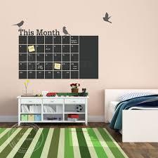calendar wall sticker vinyl diy monthly chalkboard calendar wall decal removable planner website picture gallery wall