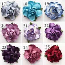 Paper Flower Diy Wedding Paper Flowers In 22 Colors For Diy Wedding Projects Karas