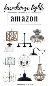 Joanna Gaines Light Fixtures Farmhouse Decor On Amazon Farmhouse Light Fixtures