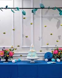 Turquoise Baby Shower Decorations The Best Baby Shower Themes Martha Stewart
