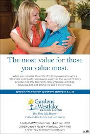 gardens at westlake senior living 27569 detroit road westlake gardensatwestlake com 440 249 7010