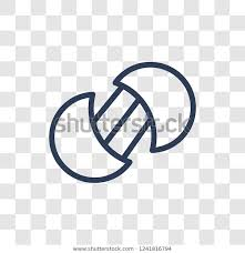 Transparent Venn Diagram Venn Diagram Icon Trendy Linear Venn Stock Vector Royalty