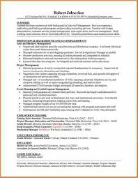 6 good example of resume basic job appication letter a good example of a resume