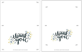 printable thank you card template free thank you postcard template freebie printable thank you card