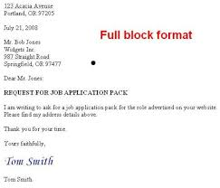 formal application format how to format a us business letter