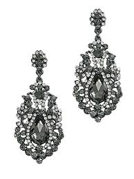 rhinestone chandelier earrings vintage bridal chandelier earrings