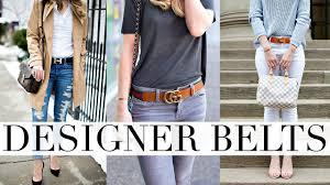 Nicest Designer Belts Best Designer Belts Gucci Louis Vuitton Hermes Belt Review Shea Whitney