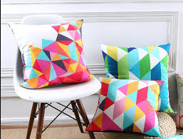 bright colored pillows. Plain Bright Colorful Geometric Throw Pillows For Living Room Bright Colors Cushions In Bright Colored Pillows Throwpillowshomecom