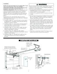 craftsman garage door opener 41a5021 manual chamberlain 1 2 hp garage door opener installation instructions craftsman