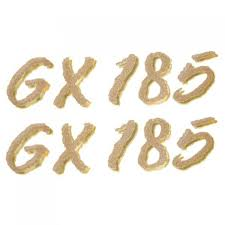 glastron boat parts accessories glastron replacement parts larson glastron 0572449 gx 185 metallic gold 5 1 2 x 1 1 4 inch boat decals pair