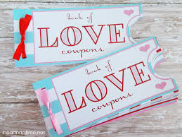 Diy Coupon Book Printable Love Coupon Book The Perfect Valentines Day Gift