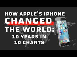 Watch How Apples Iphone Changed The World In 10 Charts Vox
