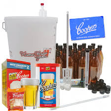 home brew complete starter kit with coopers canadian blonde