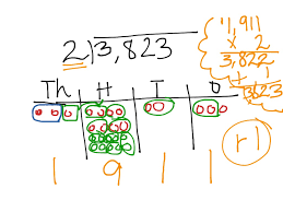Place Value Chart With Disks Long Division With Place Value Chart Math Showme