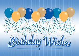 Happy Birthday Business Card Balloons Birthday Card Happy Birthday Ballons Happy
