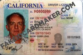 Fake Drivers Maker Card - Id California License Virtual