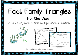 Fact Family Triangles {FREE Download}