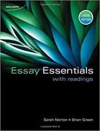 Essay essentials with readings pdf