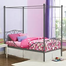 Collection in Canopy Twin Bed with Zoomie Kids Kacey Twin Canopy Bed ...