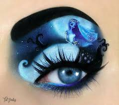 el cadáver de la novia crazy makeup makeup looks eye makeup art emo