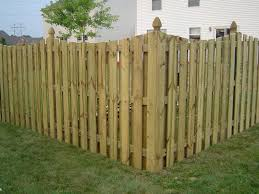 wood privacy fences. This Wood Privacy Fence Has Minimal Because The Panels Aren\u0027t Solid. Fences