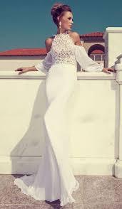48 trendy halter neckline wedding dresses happywedd com